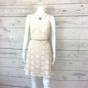 ModCloth RYU vintage inspired lace overlay dress for sale